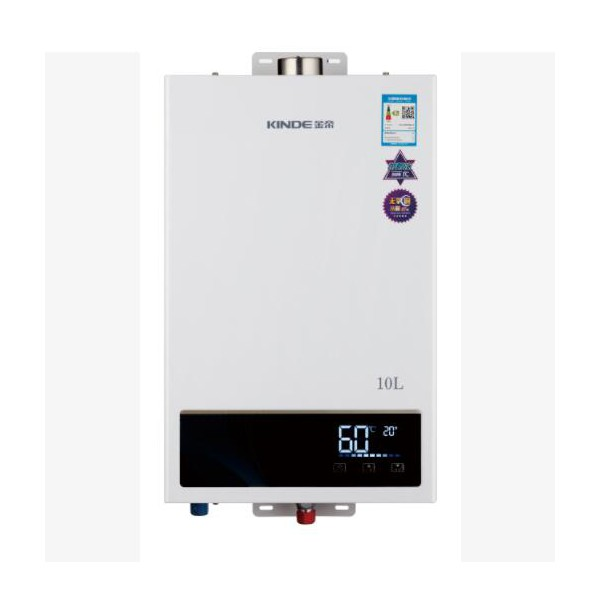金帝10升数码恒温燃气热水器 型号:JSQ20-WL6